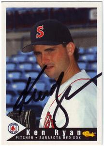 1994 Classic Ken Ryan #25 Auto Autograph - Sarasota Red Sox