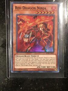 Yugioh! Red Dragon Ninja - SHVA-EN025 - Super Rare - 1st Edition Near Mint, Engl