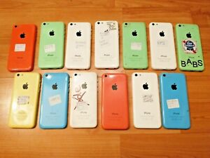 LOT OF 13 APPLE IPHONE 5c A1532 8/16/32GB CELL PHONE FIDO ROGERS BELL TELUS & +