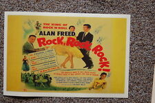 The King of Rock n Roll Alan Freed #3 Lobby Card Movie PosterRock Rock Rock