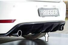 Heckeinsatz Diffusor Schwarz Glanz für VW Golf 6 GTI 00088023 / RIEGER-Tuning