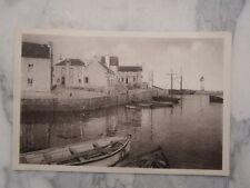 Ancienne carte postale de Quiberon Port Haliguen
