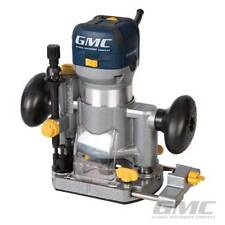 """PROFESSIONAL GMC 710W 1/4"""" PLUNGE & TRIMMER ROUTER CUTTER ELECTRIC 240V WARRANTY"""