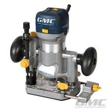 "PROFESSIONAL GMC 710 W 1/4"" plongeant & Trimmer Routeur Cutter Electric 240 V garantie"