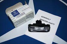 Mercedes Benz Genuine License Plate Lamp Light S class 2208200356