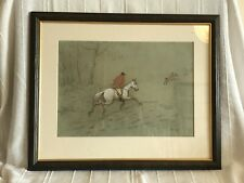 A Pair Of Hunting Scenes Late 19th Century English School Watercolour and Pencil