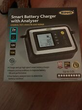 Ring RSC612 12v 12A Car Van Intelligent Smart Battery Charger & Analyser Tester