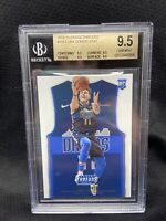 LUKA DONCIC 2018 PANINI THREADS #181 ROOKIE RC BGS 9.5 GEM QUAD C09