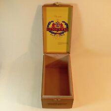 WOOD Cigar BOX Baccarat Cigars The GAME by Eiroa Churchill HONDURAS Dovetail