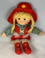 Vintage 1981 Knickerbocker Holly Hobbie COWPOKES Cowgirl