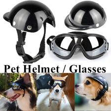 More details for adjustable dog sunglasses goggles pet motorcycle helmet uv pet glasses eyewear