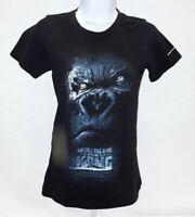 Women's Small Black Skull Island Universal Studios T-Shirt