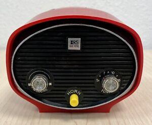 Vintage Archer Road Patrol 12-197A AM Bicycle Radio & Horn