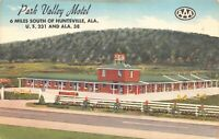 Linen Postcard Park Valley Motel in Huntsville, Alabama~125270