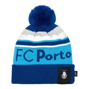 FC PORTO POM BEANIE/TOQUE OFFICIALLY LICENSED Fi COLLECTION