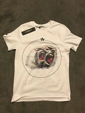 GIVENCHY T SHIRT monkey Brothers Bianco Piccolo