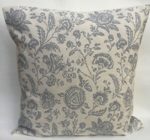"""Cabbages & Roses Provence Toile Blue Designer Cushion Cover 16"""" or 18"""" inch"""
