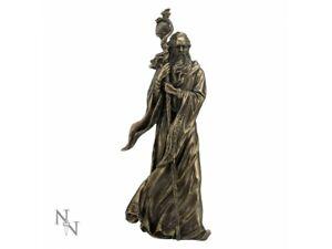 MERLIN 28cm Nemesis Now Statue Wizard Magical Arthur Bronze Fantasy FREE P+P
