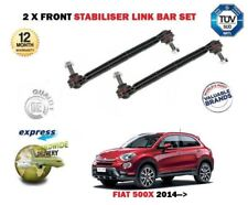 FOR FIAT 500X 2014-->  2 X FRONT LEFT + RIGHT STABILISER SWAY LINK BAR SET