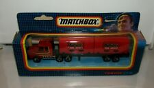 Matchbox Convoy CY18 Scania Double Container Truck Beefeater MIB