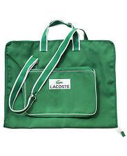 Lacoste Parfums garment white green Duffle Sports Gym school shoulder suit bag