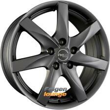 4x ProLine Wheels BX100 Matt Grey (MG) 6x15 ET35 4x100 ML63.3 Alufelgen