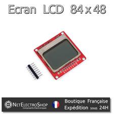 Ecran LCD 84x48 - Nokia 5110 - Retroéclairage Blanc - Arduino, Raspberry Pi