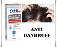 911 Zinc Shampoo Anti Dandruff for Oily Hair  Hydrates Dry Scalp 150 ml