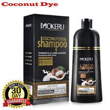 Permanent Hair Color Shampoo Natural Coconut Oil Hair Dye Long Lasting
