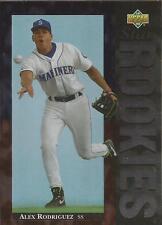 ALEX RODRIGUEZ 1994 Upper Deck Star Rookies Seattle Mariners New York Yankees B