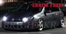 VW Golf MK5 MK6 Luminoso Bianco freddo Luce Laterale LED Light Bulbs Upgrade-Errore libero
