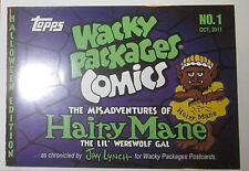 Halloween Wacky Packages Comics Hairy Mane mini comic 2011 Jay Lynch
