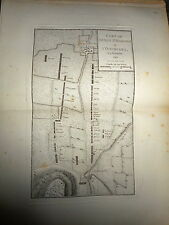 36 - CARTE MAP PLANS Campagne ITALIE 1745 & 1746 BORGO ST MARTINO OCCIMIANO 1775