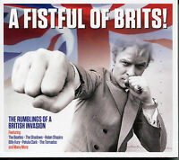 A FISTFUL OF BRITS! - 2 CD BOX SET - THE SHADOWS, BILLY FURY & MORE