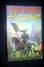 Hexenzauber Fantasy- Roman von Terry Brooks Buch Zustand sehr gut Goldmann