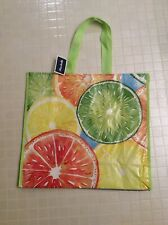 NEW Marshalls Reusable Shopping Bag Summer Citrus Fruit EcoFriendly