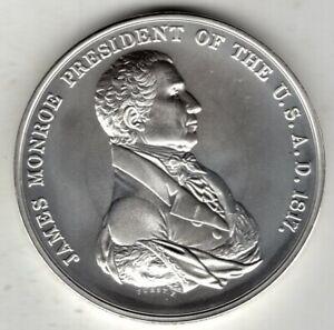 United States Presidential Silver Medals Program, James Monroe, President