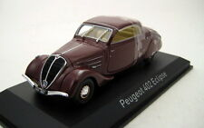 Peugeot 402 Eclipse 1937 Dark Red 1/43  474217  Norev