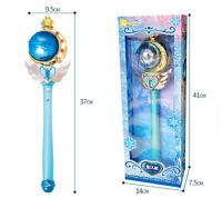 Anime Sailor Moon Musical Magic Wand 20th Tsukino Usagi Glow Stick Rod Blue New