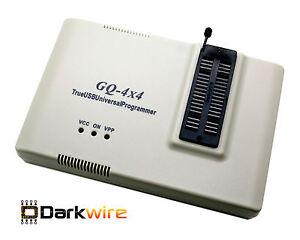 GQ-4X v4 USB Programmer Eprom Chip Burner GQ-4X4 ECU BIOS Flash PIC AVR OBD