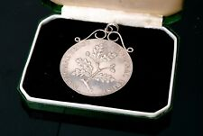 SILVER ROYAL MINT NATIONAL TRUST COIN NECKLACE CHARM 1976