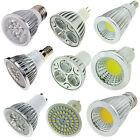 E27 E14 GU10 MR16 GU5.3 LED Spotlight 3W 5W 9W 12W 15W Bulb SMD COB Lights Lamp