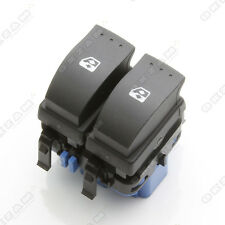 RENAULT MEGANE II 2 ELECTRIC WINDOW CONTROL DOUBLE SWITCH FRONT RIGHT BLUE BASE
