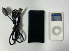 Apple iPod Nano 1st Generation 1GB MP3 Player A1137 White Tested