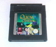 Juego: Quest for Camelot para gameboy color + Advance + SP