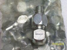 "(1) Graco 563214 Straight Ball Bearing Swivel 1/4"""