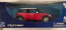 NewRay City Cruiser Mini Cooper Die Cast 1:24 Red New In Package
