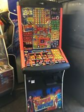SUPER HEROES FRUIT MACHINE, £100 JACKPOT, ACCEPTS NEW £1 COIN, BLUEPRINT