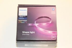 "Philips Hue 555334 White & Color Ambiance 80"" Lightstrip Plus Bluetooth USED"
