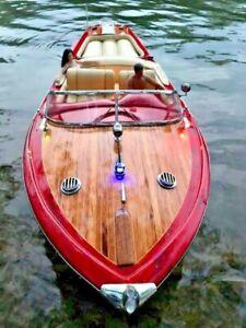 RC BOAT RIVA AQUARAMA 90cm (35.43 inches) SPEED BOAT WOOD MODEL